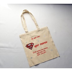 Tote bag longue anse Super...