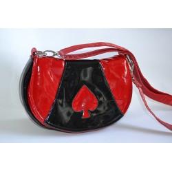 Sac mini Rosie Rouge et noir
